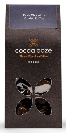Dark Chocolate Cinder Toffee 80g Cocoa Ooze