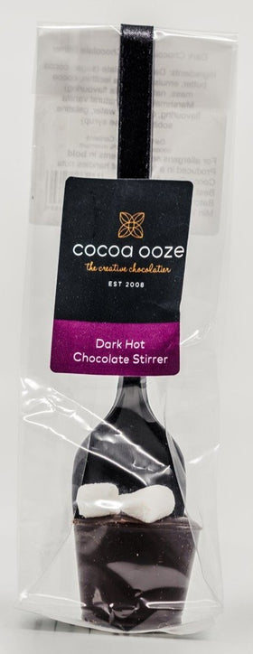 Dark Hot Chocolate Stirrer 20g Cocoa Ooze