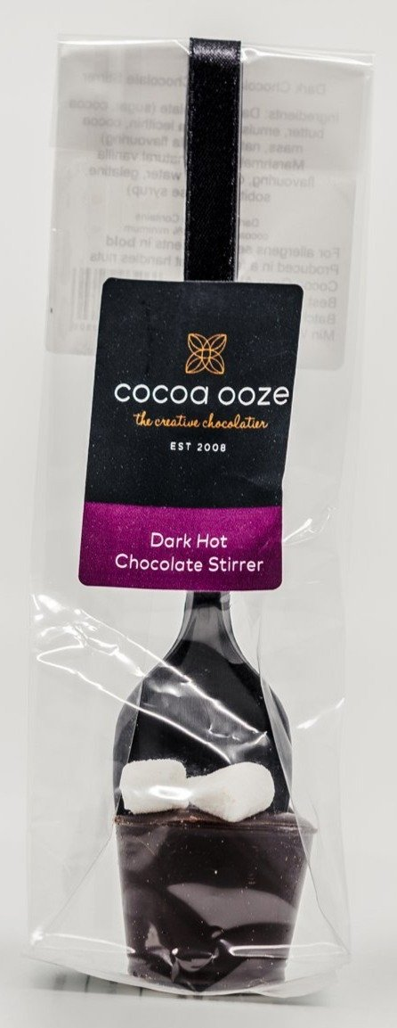 Dark Hot Chocolate Stirrer 20g.