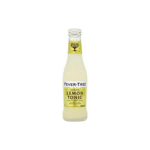 Fever Tree Lemon Tonic Water 200ml - Best British Produce