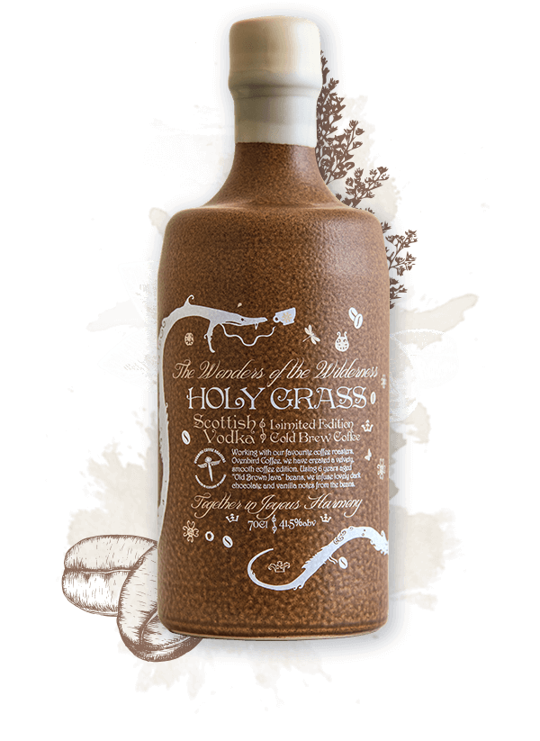 Holy Grass - Cold Brew Coffee Edition Vodka 41.5% 70cl - Best British Produce