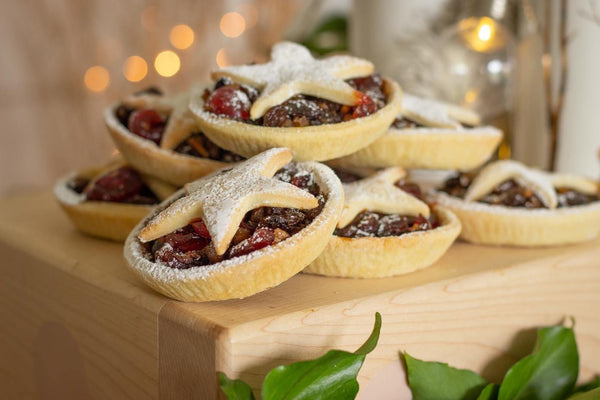 Luxury Brandy & Orange Mince Pies - Box of 4 - Best British Produce