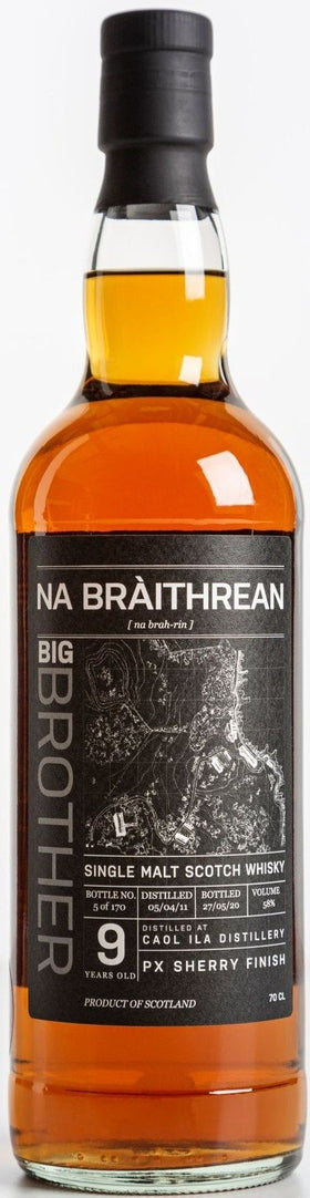 Caol Ila 9 Year Old - Big Brother (Na Bràithrean) Whisky 58% 70cl