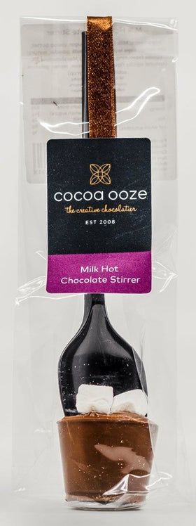 Milk Hot Chocolate Stirrer 20g Cocoa Ooze
