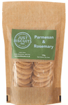 Parmesan & Rosemary Biscuits 125g.