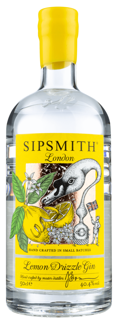 Sipsmith Lemon Drizzle Gin 40.4% 50cl - Best British Produce