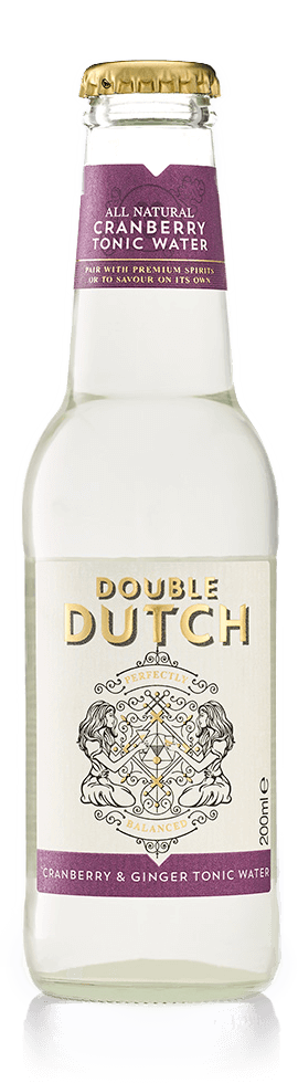 Double Dutch Cranberry & Ginger Tonic Water 200ml - Best British Produce