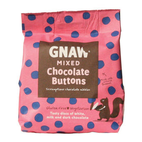 Gnaw Mixed Chocolate Buttons (150g)