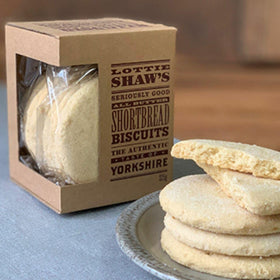 All Butter Shortbread Biscuit Box 275g Lottie Shaw