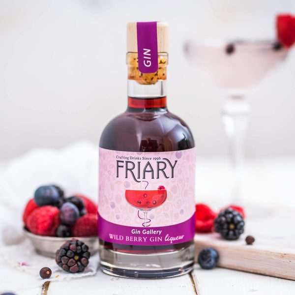 Friary Wild Berry Gin Liqueur 18% 20cl - Best British Produce
