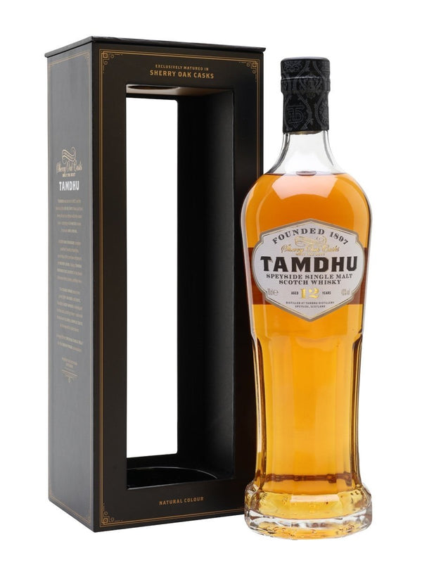 Tamdhu 12 Year Old Single Malt Whisky 43% 70cl