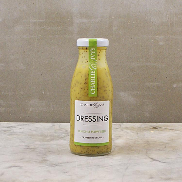 Lemon & Poppy Seed Dressing 250ml - Best British Produce