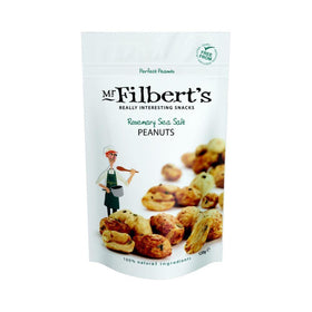 Rosemary Sea Salt Peanuts 110g Mr Filberts