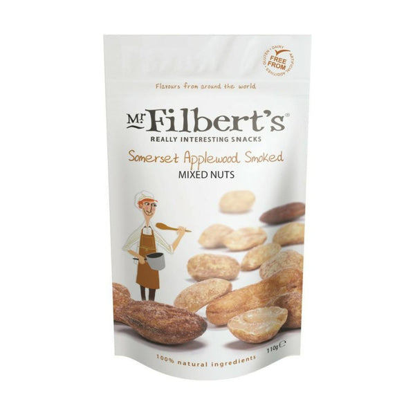 Somerset Applewood Smoked Mixed Nuts 110g - Best British Produce