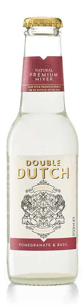 Double Dutch Pomegranate & Basil Tonic Water 200ml