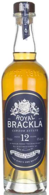 Royal Brackla 12 Year Old Whisky 40% 70cl - Best British Produce