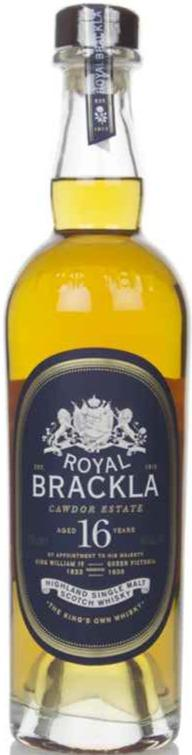 Royal Brackla 16 Year Old Whisky 40% 70cl