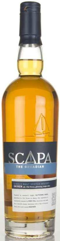 Scapa Skiren Whisky 40% 70cl.