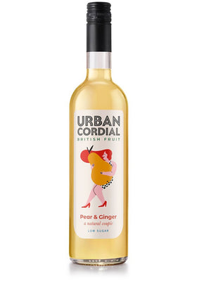 Pear & Ginger Cordial 500ml Urban Cordial