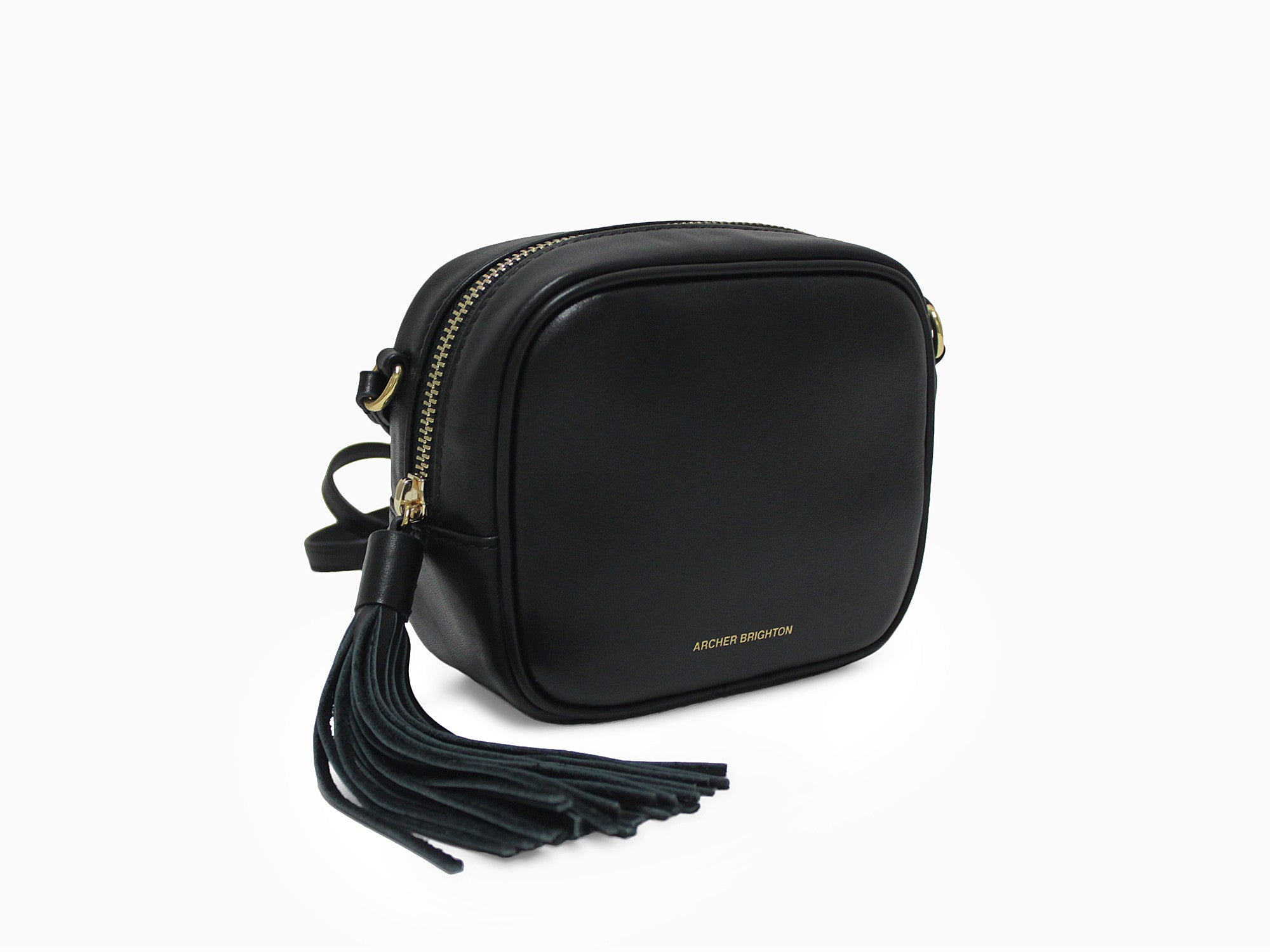 THE EMMA LEATHER EVENING BAG