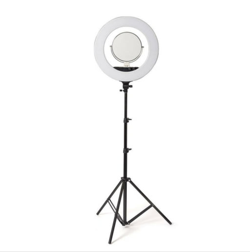 Large 18 Inch / 5600 Bolt Led Ring Lighting Kit + Tripod