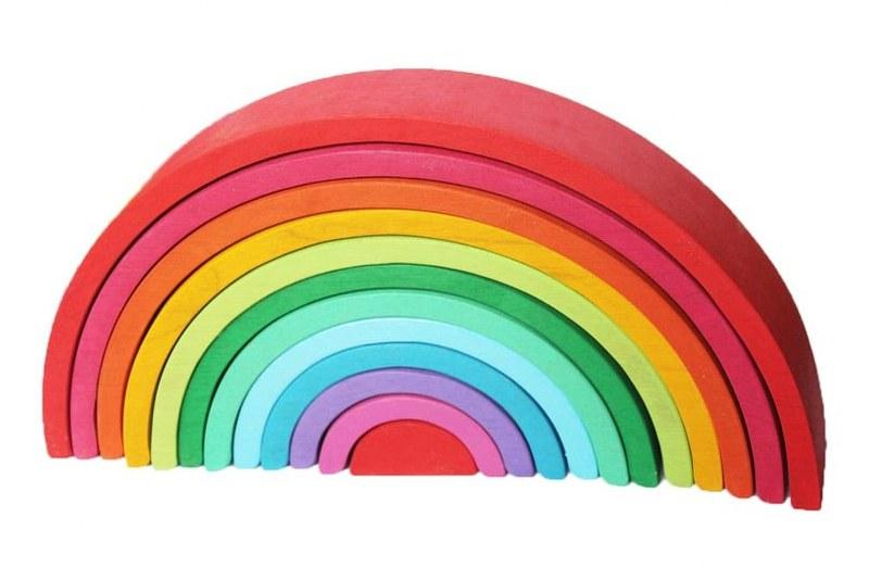 12 Piece Rainbow Stacker