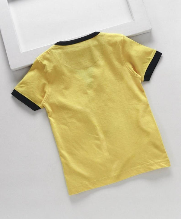 Royal Brats T-shirts Yellow Base with Printed top