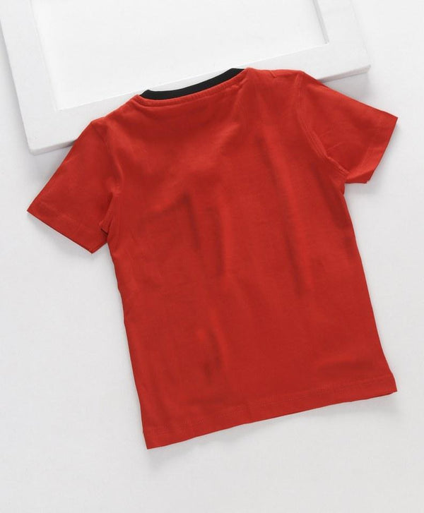 Royal Brats T-shirts Orange Base With Printed Top