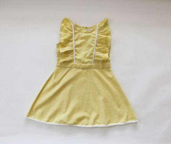Geranium Dress Yellow