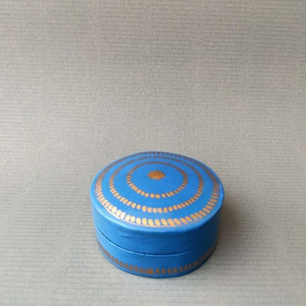 Round Pin Box (Light Blue)