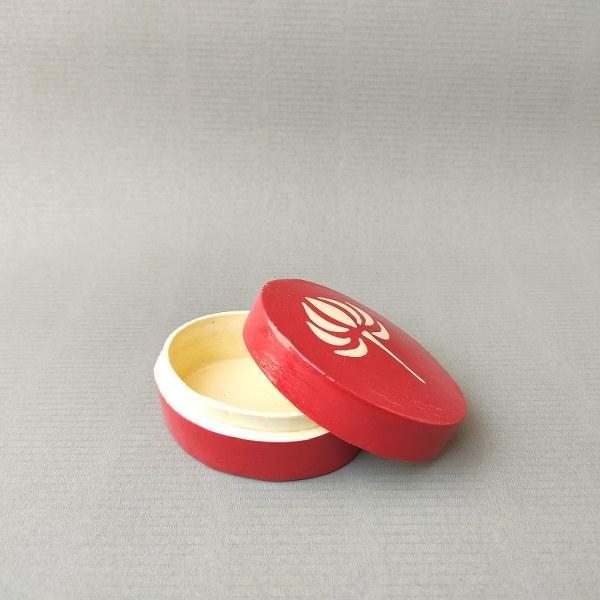 Round Pin Box (Red)
