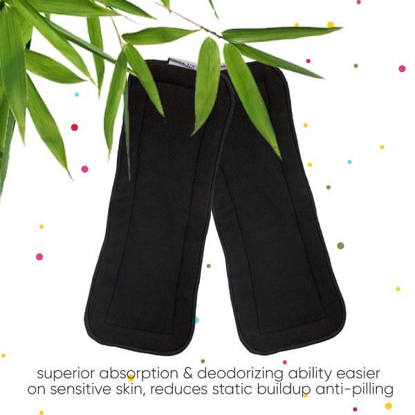 5 Layer Bamboo Charcoal Insert Washable (Pack of 2)