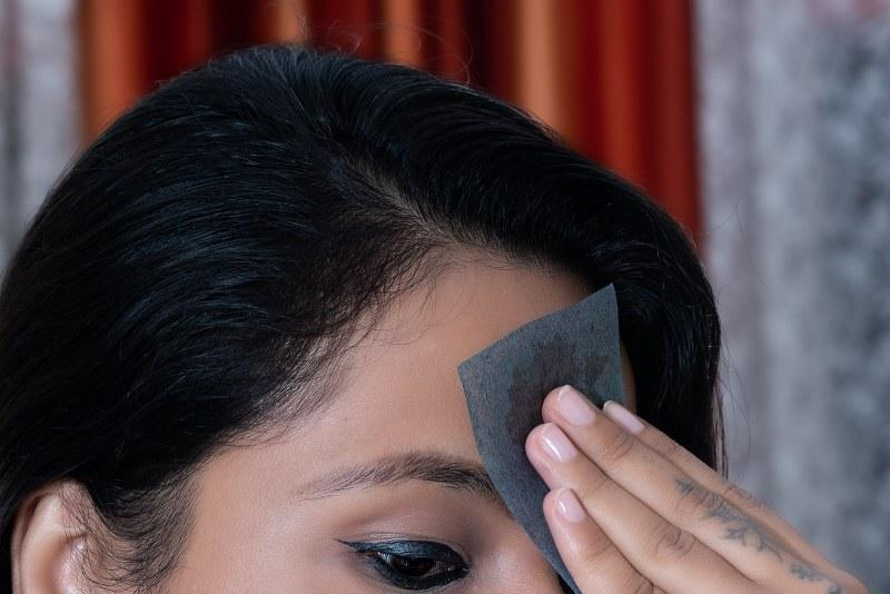 Makeup Charcoal Oil Absorbing/ Blotting Paper