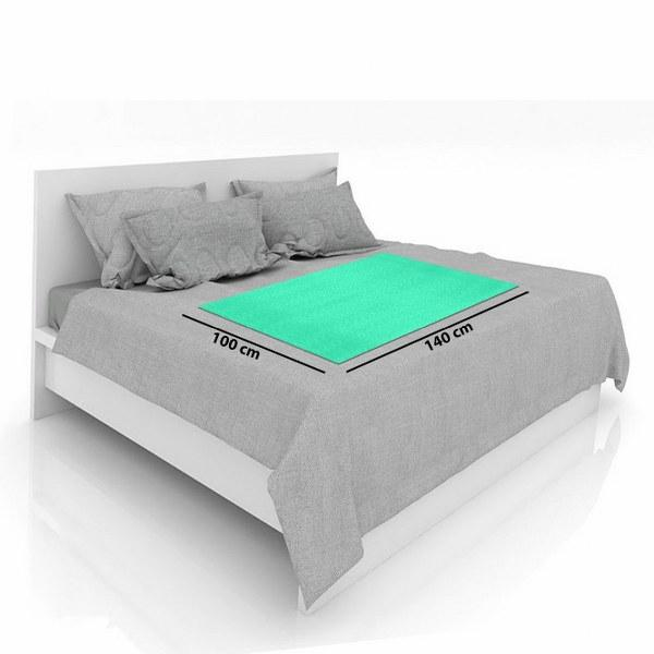 Baby Mat Bed Protector Waterproof Sheet Reusable Absorbent Dry Sheet (Mint, Large, 100 x 140 cm)