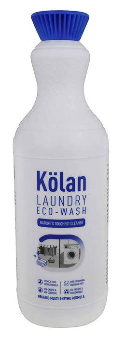 Kolan Organic Biodegradable Laundry Clothing Detergent - Ideal for Both Top and Front Load and also Hand Wash