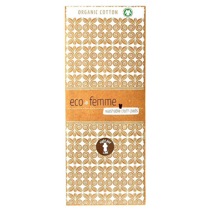 Eco Femme Organic Night Pad - Pack Of 2
