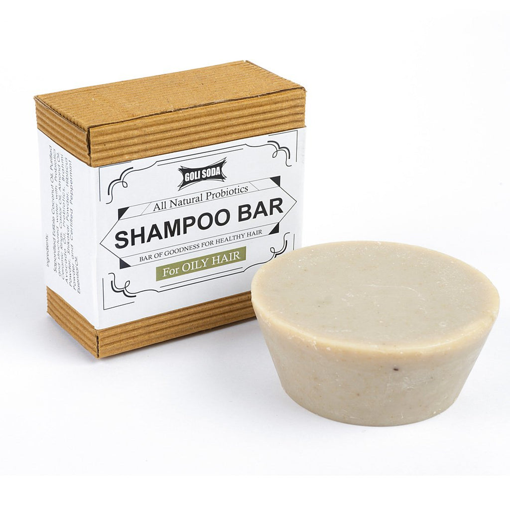 All Natural Probiotics Shampoo Bar For Oily Hair (Pack Of 1)