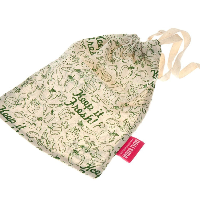 Keep It Fresh Reusable Cotton Vegetable Bag (Pack Of 1)