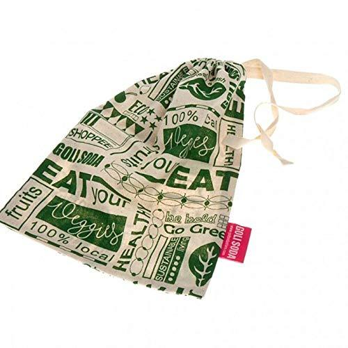 Go Green Reusable Cotton Vegetable Bag - Small (Pack Of 6)