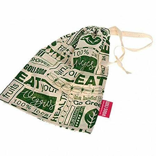 Go Green Reusable Cotton Vegetable Bag - Small (Pack Of 4)
