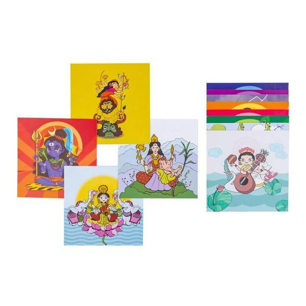 Discovery Cards - Gods and Goddess of India