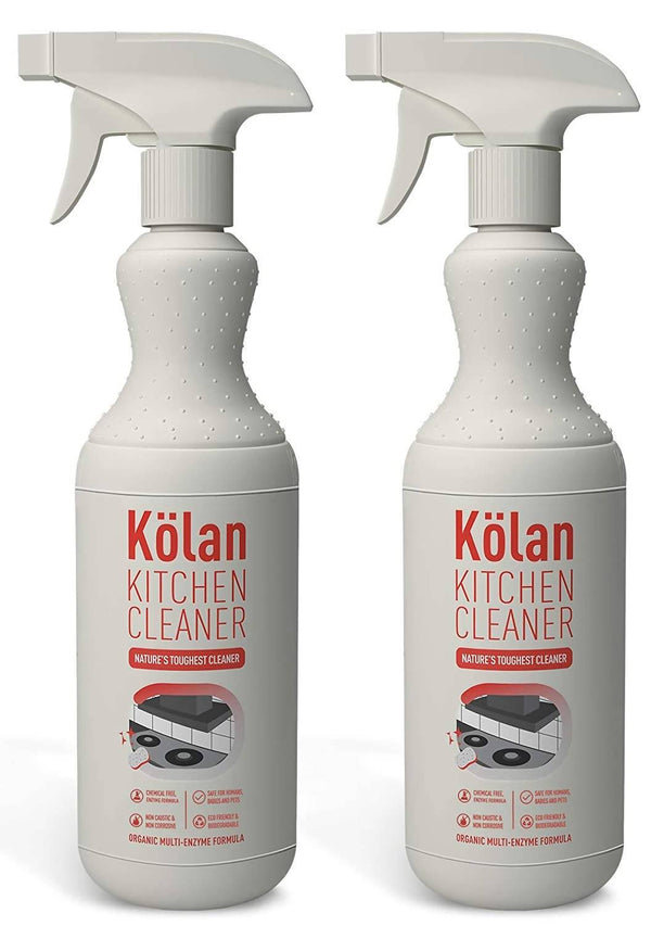 Kolan Organic Kitchen Cleaner (Suitable For All Surfaces Including Marble, Granite, Wood, Laminated, Tiles, Stainless Steel and Glass)