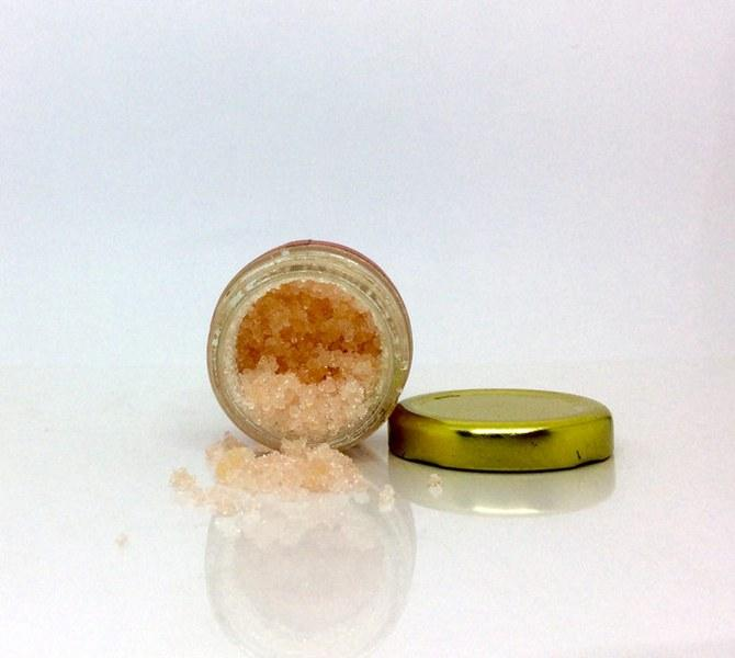 Peppermint Lip Balm and Lavender Lip Scrub Duo