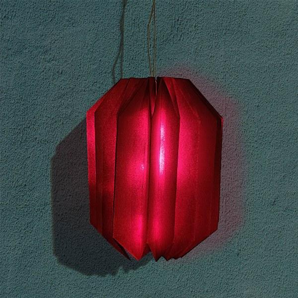 Origami Red Lanterns (Pack of 2)