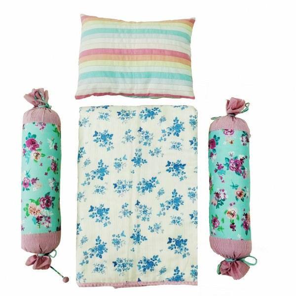 ROSE BLUE PILLOW