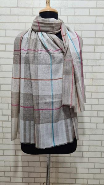 Woolen Stole (Check design)
