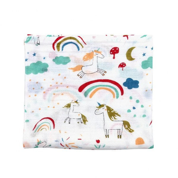 Melange swaddle (The Rainbow story)
