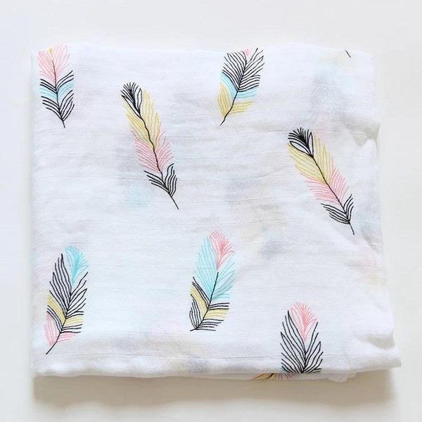 Melange Swaddle (The feather)