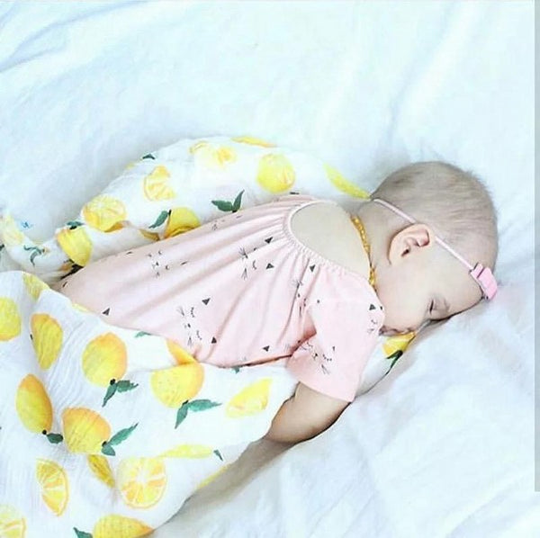Melange swaddle (The Lemon)