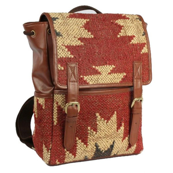 TASSELA BACKPACK RED